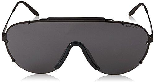 Ca129s Matte Sunglasses Shield Polarized Black Men's Carrera gray zZq5wTaUxn