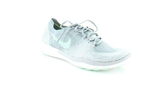 NIKE WMNS Free Focus Flyknit 2 Sz 9.5 Womens Cross Training Cool Grey/Arctic Green-White Shoes Review
