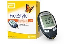 Freestyle Freedom Lite Blood Glucose Monitoring System by Abbot Diabetes Care