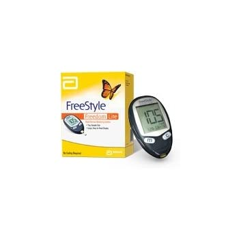Amazon Com Freestyle Freedom Lite Blood Glucose Meter