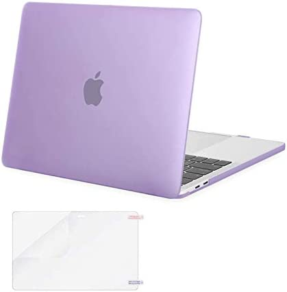 Protective MacBook Pro Case Leaves Mauve Purple Transparent Veins Cover MacBook Air Hard Shell Mac Air 11//13 Pro 13//15//16 with Notebook Sleeve Bag for MacBook 2008-2020 Version