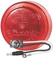 Truck-lite 81133 Led 10-series Clearance/marker Lamp, 2.5'', Red (Pack of 5)