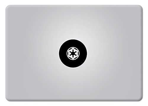 Star Wars Imperial Logo Galactic Empire Small Apple Macbook