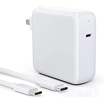 Amazon.com: 87W/90W USB C Power Adapter, WEGWANG Type C ...