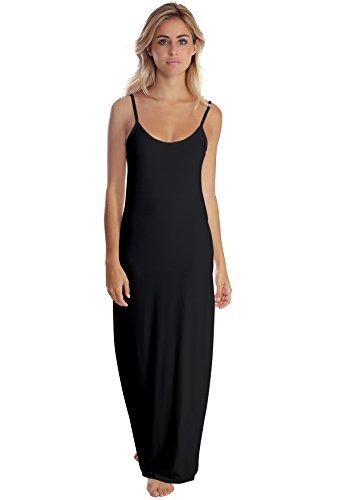 Modal Vous Longue Fines Noir Bretelles Robe Gigi Paris En Rendez g6wqd0vvf