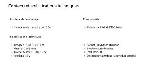 Corsair LPX 16GB DDR4 DRAM 2666MHz C16 Memory Kit CMK16GX4M1A2666C16