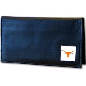 Siskiyou NCAA Texas Longhorns Leather Checkbook Cover