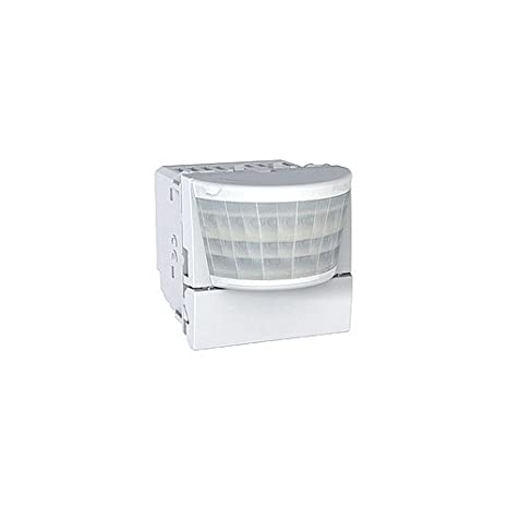 Sensor de movimiento, 400 w, 2 módulos, Schneider Unica-color blanco