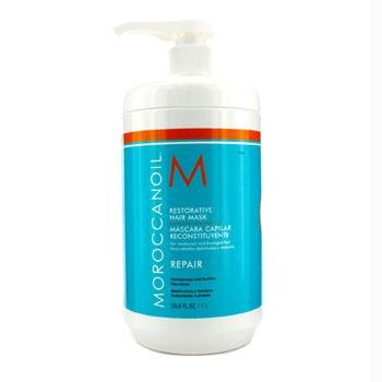 Moroccanoil Restorative Hair Mask - For Weakened and Damaged Hair (Salon Product) 1000ml/33.8oz by Moroccanoil