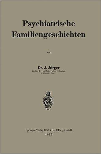 Book Psychiatrische Familiengeschichten