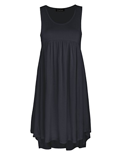 Ineffable Womens Sleeveless Pockets Casual