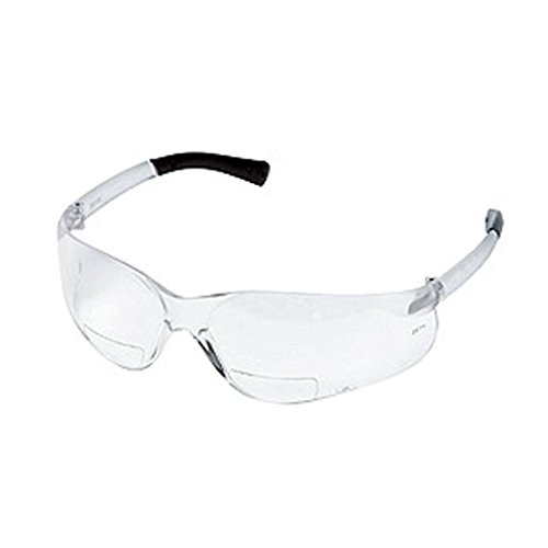 2.5 Diopter Crews BearKat Bifocal Safety Glasses in Clear (12/Pack) - OSSG-SFTEYSG1000021947-CLEAR2.5