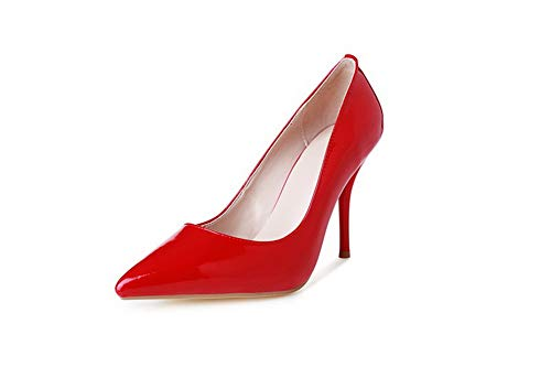 Casual APL10950 Structured Womens BalaMasa Shoes Travel Red Pumps Urethane OqPvwSa