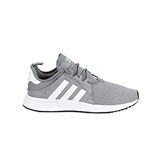 adidas X_PLR Gray & Cloud White Shoes, Grey, 11
