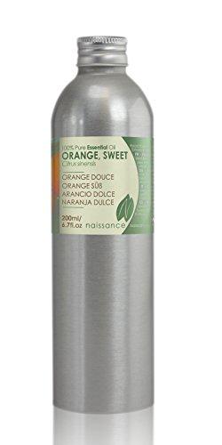 Orangenöl, süß - 100% naturreines ätherisches Öl - 200ml