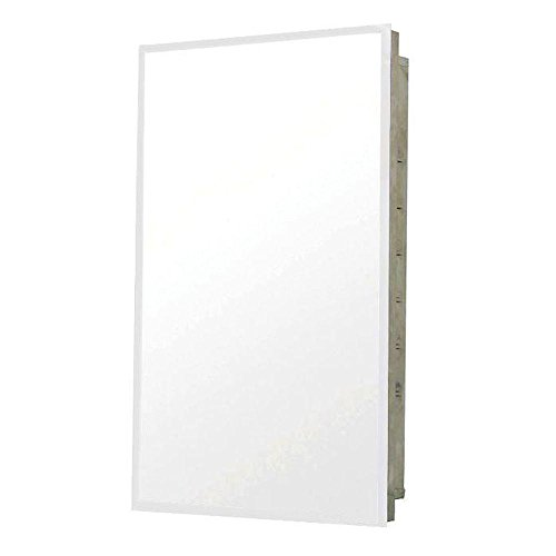 Pegasus SP4591 Deco 20-Inch Mirrored Medicine Cabinet, Stainless -