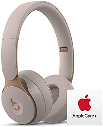 Amazon Com Beats Solo Pro Wireless Noise Cancelling On Ear Headphones Apple H1 Chip Grey With Applecare Bundle