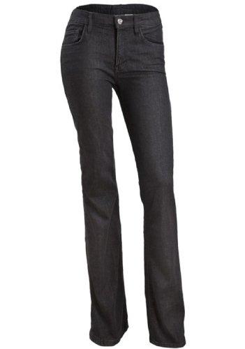 Nuevas señoras Stretch Skinny Slim Fit Negro Denim Jeans Pantalones Tamaño