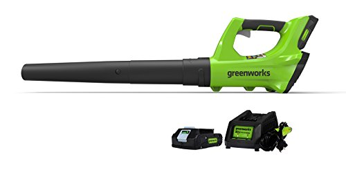 Greenworks Blower, 2.0 AH Battery Included
