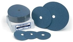 5 x 7/8 24 Grit Resin Fiber Sanding Disc, Zirconia 100/Pack by Random Products Inc