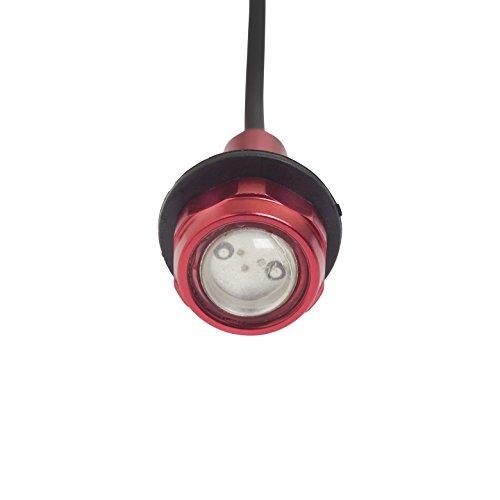 (Yak-Power Super Bright LED Button Light Kit Red (2pcs))