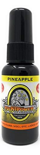 BluntPower 1 Ounce Bottle Oil Based Concentrated Air Freshener Oil for Burner, Pineapple