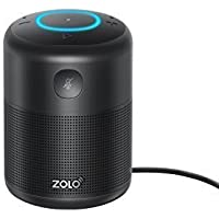ZOLO Halo Bluetooth and Wi-Fi Smart Speaker with Alexa and Powerful Sound