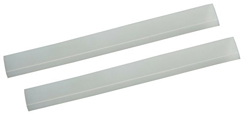 #1 Premium Stove Counter Gap Cover - Set of 2 Clear - Stove Gap, Gap cap for stoves by Kiddo Care