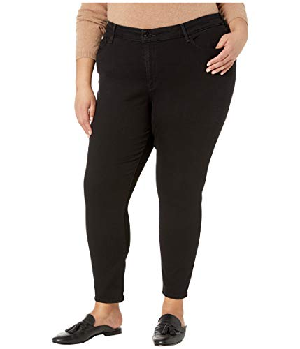 Label Casual Pants - Signature by Levi Strauss & Co. Gold Label Women's Modern Skinny Jeans, Black Opal, 24 Medium