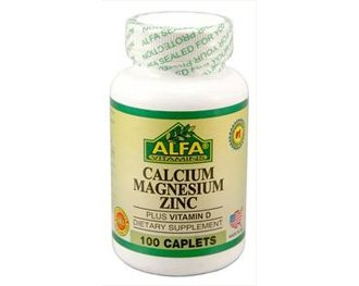 Alfa Vitamins Calcium Magnesium Zinc + Vitamin D 100 tabs Healthy Body