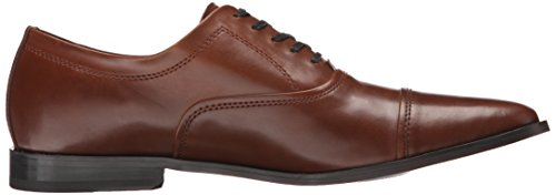 Calvin Klein Mens Nino Leather Oxford British Tan