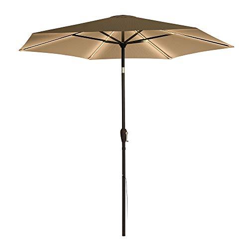 Ultra Brite Outdoor Premium 432 LED Lighted Patio Umbrella w