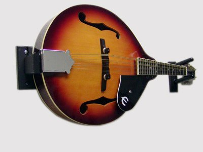Standard Horizontal Mandolin Wall Mount (Made in the USA) by Guitar Ideas