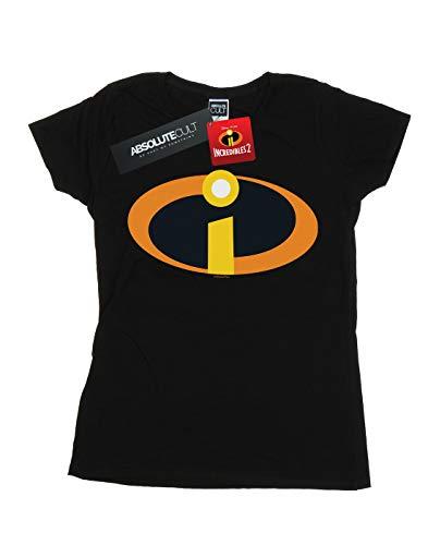 Negro Camiseta The Logo Mujer 2 Suit Disney Incredibles 4qB6w40