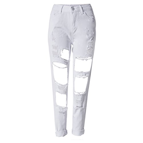 Buy white boyfriend jeans