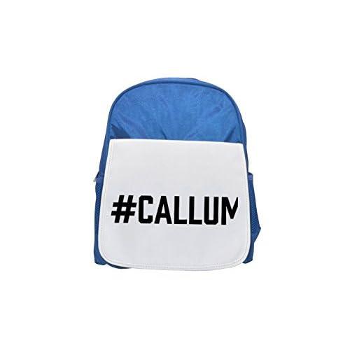 # CALLUM impreso Kid 's azul mochila, para mochilas, cute small Mochilas, cute negro mochila, Cool mochila negra, moda mochilas, Gran moda mochilas, negro moda mochila