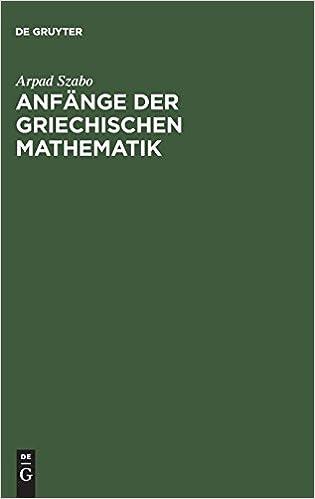 Descargar Mejortorrent Anfänge Der Griechischen Mathematik Fariña Epub