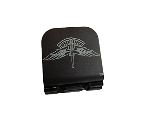 HALO Jump Wings Laser Etched Hat Clip Black