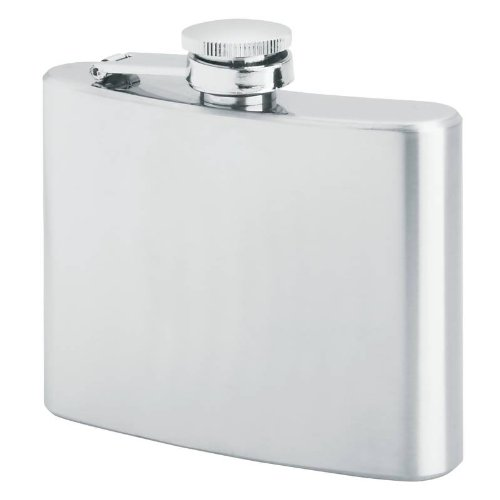 Maxam 4oz Stainless Steel Flask