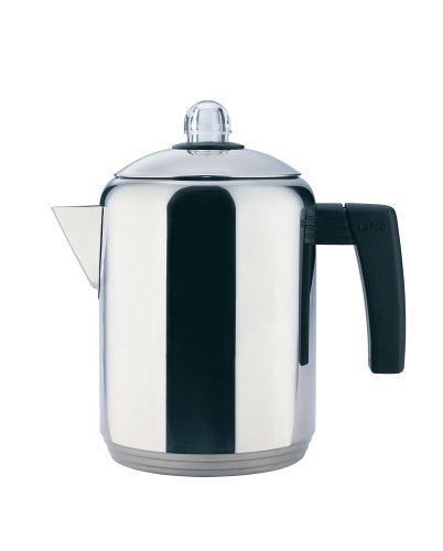 Copco 4- to 8-Cup Polished Stainless Steel Stovetop Percolator, 1.5 Quart by Copco