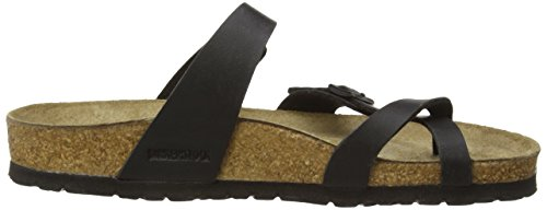 Birkenstock womens Mayari in Black from Birko-Flor Thong 36.0 EU N flhrJS0A4