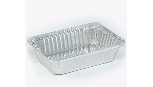 Oblong Pan Baking Storing Aluminum Freezing Durable Heavy Duty New 2.25 lb Case Pack 500 K&A Company