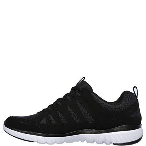 white Skechers 0 Billow Black 3 Lightweight Womens Cushioned 8 Appeal Trainers Flex rAxIq46rnv