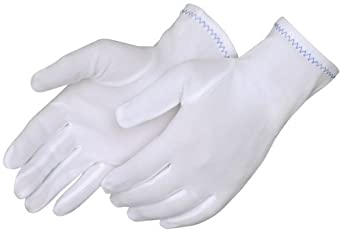 Liberty 4611 Nylon Full Fashion Stretch Inspector Ladies Glove, Small (Pack of 12)