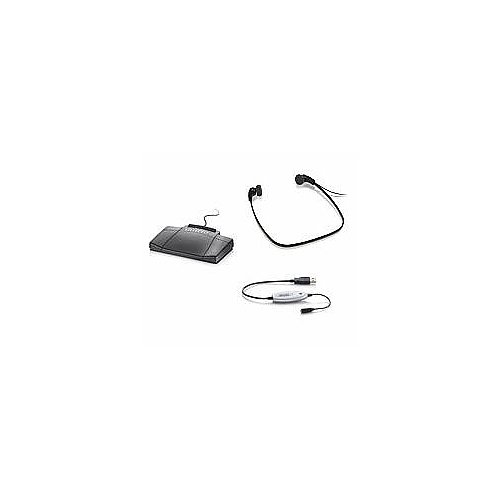 Phillips USB Hardware Kit with Foot Pedal and Headset -
