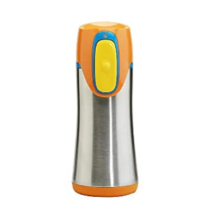 Contigo Autoseal Stainless Steel Kids 12-Ounce Cup , Orange