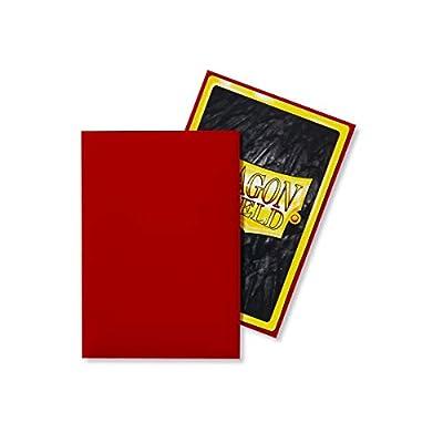 Arcane Tinmen Sleeves: Dragon Shield Japanese  Crimson (60): Toys & Games