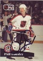 Phil Housley Winnipeg Jets 1991 Pro Set All Star Autographed Card. This item comes with a certificate of authenticity from Autograph-Sports. Autographed