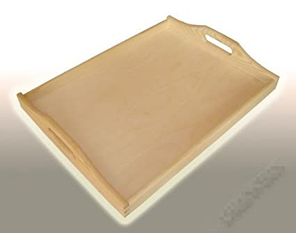 H50 de madera bandeja para servir bandeja de té/cocina de madera/bandeja/