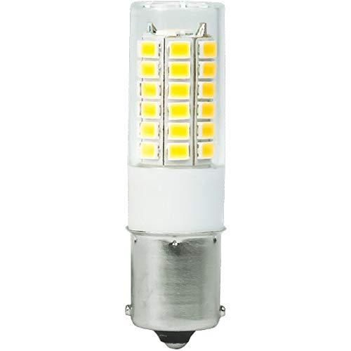 1156-3W Single Contact BA15s - LED - 400 Lumens - 20W Halogen Equal - 3000 Kelvin - Halogen White - 12-30 Volt DC Only ()